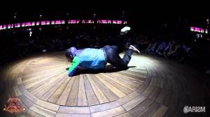 360度の包囲の観客相手にここまで魅せれるダンサーは居ない!!