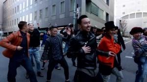 【やばい♪】ダンススタジオまでの道のり案内動画がカッコ良すぎる!