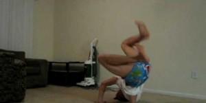 お腹の調子悪いのにブレイクダンスの練習した結果wwww
