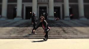 【】LesTwinsがハーバード大学で踊ってみた!