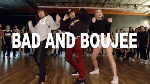【MattSteffanina振り付け】キレと緩急がバツグン!「BAD AND BOUJEE」のダンスに注目!