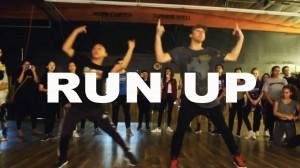 抜群のキレとスピード感!Matt Steffanina振り付けの「RUN UP」!
