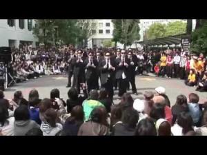 【激しさMAX ww】学祭で披露された「エヴァンゲリオン」のダンスがキレよすぎ!?