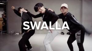 キレキレで激しいダンス!人気スタジオ講師「Hyojin Choi」による「Swalla」!