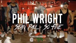 大胆で軽快ステップ☆Phil Wrightがまたもや楽しい振り付けをみせてくれる!!