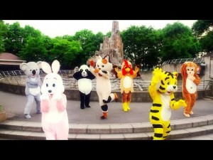 """着ぐるみの中身は""""あの""""メンバー!警視庁いきもの係のEDダンス動画「アニマルオンリーバージョン」が公開!"""
