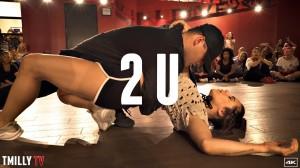 【David Guetta ft Justin Bieber – 2U】の楽曲で踊る男女2人の熱の入ったダンスが素敵すぎる♡