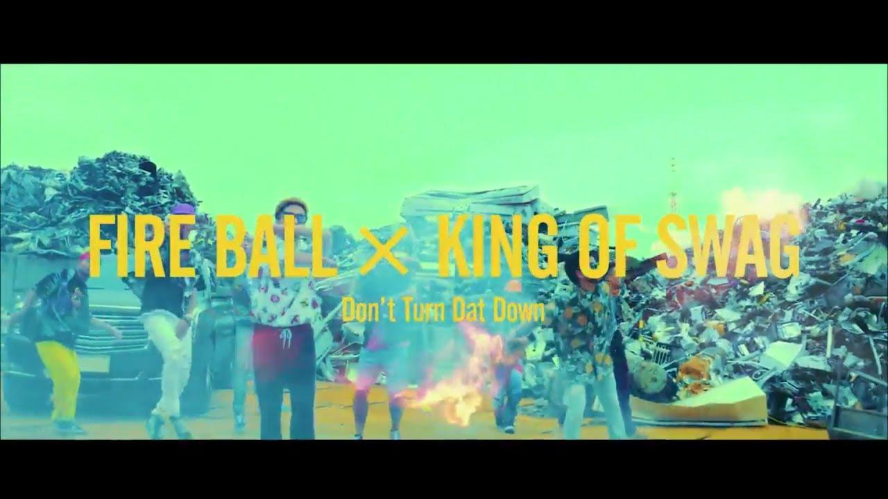 画像 レゲェ界のキングFIRE BALLの新曲ダンス映像公開!世界一SWAGなダンスグループKING OF SWAGとコラボで超かっこいい!