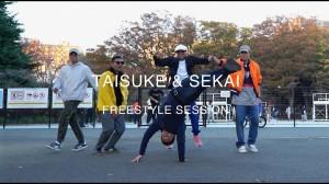 B-BOY《Quick Style × Taisuke × Sekai》のバイブス上がるフリースタイルセッション!