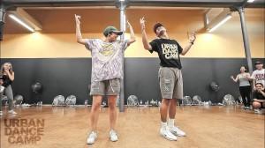 夫婦ダンサー「Keone & Mariel Madrid」振り付け!シンクロが見事な123 Victory!