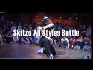 関節オバケ《Skitzo》のどんなスタイルも踊りこなす、エグすぎるダンスバトル総集動画!