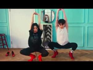 《Lia Kim》最新ダンス動画!赤いピンヒールで踊るセクシーダンスに注目!