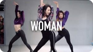 セクシー且つカッコいい振り付け。Mina Myoungによる「Woman」が素晴らしい!