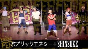 あのONE PIECEを再現した【パブリックエネミー×SHINSUKE】のコラボダンス動画!