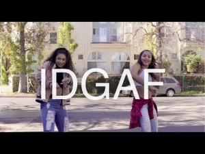 《Phil Wright振付け》ダンサーなら街中でもどこでも「IDGAF」そんなの知るか!って踊っちゃうえ
